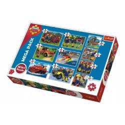 Obrázek Puzzle Požárník Sam 10v1 v krabici 40x27x6cm