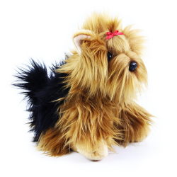 Obrázek plyšový pes yorkshire 27 cm
