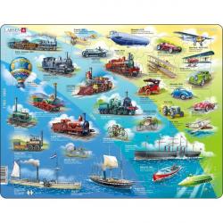 Obrázek Puzzle Historie pohybu s motorem 54 dílků