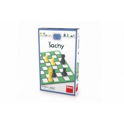 Obrázek Šachy cestovní hra v krabičce 11,5x18x3,5cm