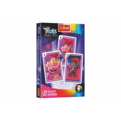 Obrázek Černý Petr Trolls/Trollové společenská hra - karty v krabičce 6x9x1cm 20ks v boxu