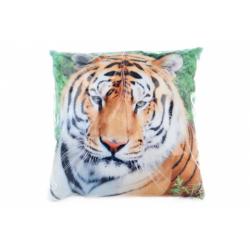 Obrázek Polštářek 33 x 33 cm tygr