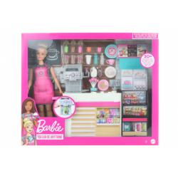 Obrázek Barbie Kavárna s panenkou GMW03