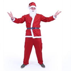 Obrázek Kostým Santa Claus (bez vousů) pro dospělé