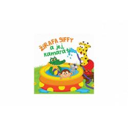 Obrázek Knižka mäkká Žirafa Giffy a jej kamaráti 20x15cm v sáčku SK verzia