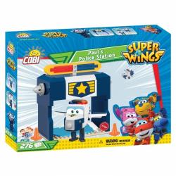 Obrázek Cobi 25131  Super Wings Paulova policejní stanice 275 k