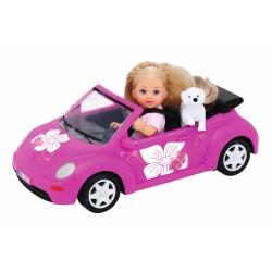 Obrázek Panenka Evička s autem New Beetle