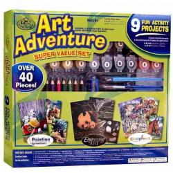 Obrázek Art Adventure- velká sada tvoření - zelená