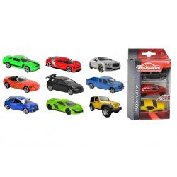 Obrázek Autíčka Kovová 3 Ks Street Cars, 3 druhy