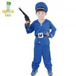 Obrázek Dětský kostým Policista (S) EKO