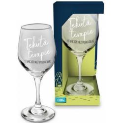 Obrázek Sklenice na víno - Terapie