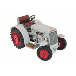 Obrázek Traktor Schlüter DS 25 šedivý na klíček kov 1:25  17x11x10cm Kovap