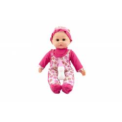 Obrázek Miminko mrkací a mluvící s doplňky plast 30cm  se zvukem