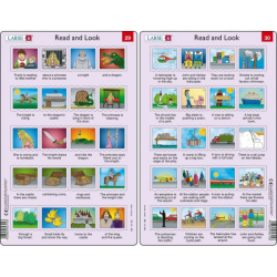 Obrázek Puzzle Angličtina - delší věty RA15 20 dílků