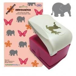 Obrázek Děrovačky s embosing efektem - slon