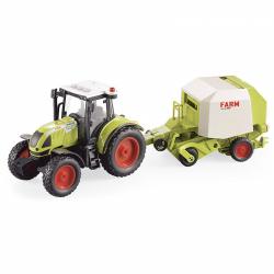 Obrázek Traktor s přívěsem na stervačník 1:16