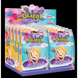 Obrázek Glibbi Glitter Slime sliz fialový třpytivý DP10