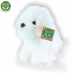 Obrázek Plyšový pes bišon sedící 18 cm ECO-FRIENDLY