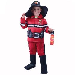 Obrázek Dětský kostým hasič s českým potiskem (S)