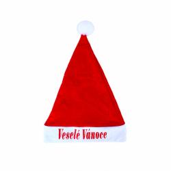 Obrázek Vánoční čepice s nápisem Veselé Vánoce