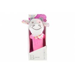 Obrázek Chrastítko pískací růžová kravička
