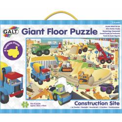 Obrázek Velké podlahové puzzle – na staveništi