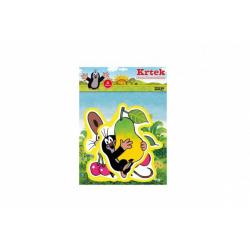 Obrázek Pěnové dekorace na zeď Krtek 3ks v sáčku 29x39cm