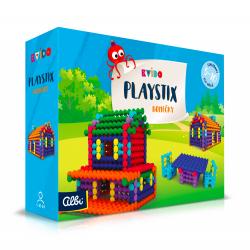 Obrázek ALBI Kvído - Stavebnice Playstix - domečky 150 dílků