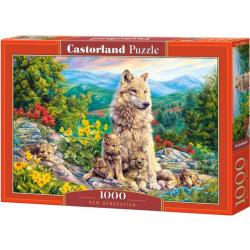 Obrázek Puzzle Castorland 1000 dílků - Nová generace vlků