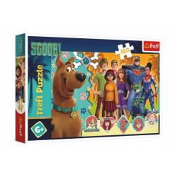 Obrázek Puzzle Scooby Doo v akci 41x27,5cm 160 dílků v krabici 29x19x4cm