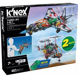 Obrázek KNEX - Stavebnice letadlo Turbo Jet 2 v 1 402 dílků