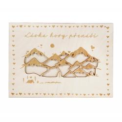Obrázek ALBI Kapsa na peníze - Láska hory přenáší