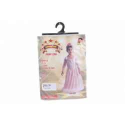 Obrázek Šaty na karneval - růžová princezna 80 - 92 cm