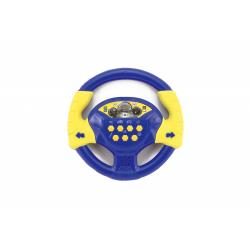 Obrázek Volant modrý plast 20cm  se zvukem  český design