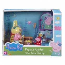 Obrázek Prasátko Peppa sada Svět pod vodou - 3 figurky a doplňky