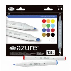 Obrázek Grafické fixy - Royal základní barvy - 12 ks grafických fixů + 1 ks blender