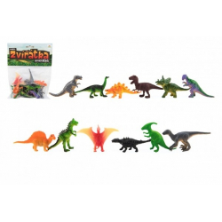 Obrázek Zvířátka dinosauři mini plast 6-7cm 12ks v sáčku