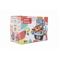 Obrázek Kuchyňka s doplňky 14ks plast v krabici 25x18x15cm