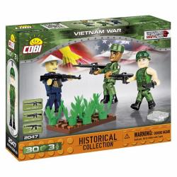 Obrázek Cobi 2047  3 figurky s doplňky Vietnamská válka