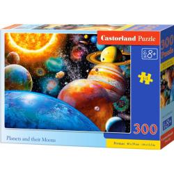 Obrázek Puzzle 300 dílků - Planetky