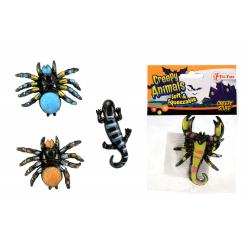 Obrázek Pavouk sliz 6cm - 4 druhy 36ks v boxu