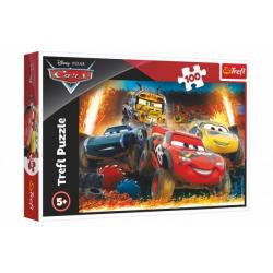 Obrázek Puzzle Disney Cars 3/Extrémní závod 100 dílků 41x27,5cm v krabici 29x19x4cm