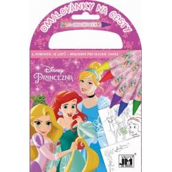 Obrázek Omalovánka na cesty Disney Princezny