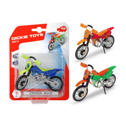 Obrázek Motocykel Cross Bike 3 druhy 12cm - 3 druhy