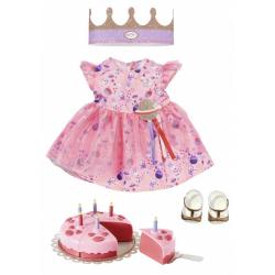 Obrázek BABY born Souprava s dortem Deluxe Narozeninová edice 43 cm