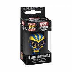 Obrázek Funko POP Keychain: Marvel Luchadores- Wolverine