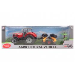 Obrázek Traktor s diskovým kypřičem půdy