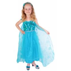 Obrázek Dětský kostým princezna Zimní království Eliška DELUXE (S)