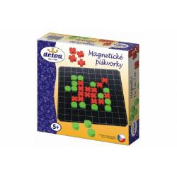 Obrázek Magnetické piškvorky dřevo společenská hra