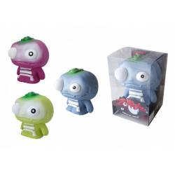 Obrázek Zombeezz figurka 12cm střílející okem guma + 5ks míčků  2 barvy v plastové krabičce 10x15x10cm